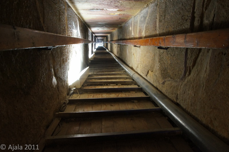 Zugang zur Grabkammer der Snofru-Pyramide