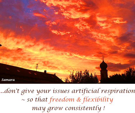 don-t-give-your-issues-artificial-respiration--so-that-freedom-flexibility-may-grow-consistently