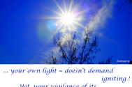 your-own-light--doesn-t-demand-igniting-yet-your vigilance-of-its-blaze-does