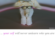 your-self-will-never-unlearn-who-you-are--wherefore-do-you-unlearn-it