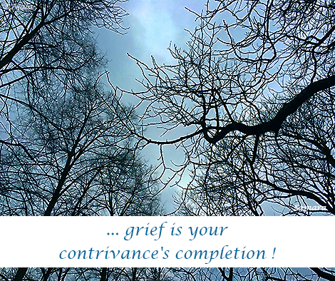 grief-is-your-contrivance-s-completion