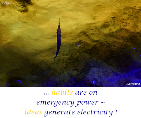 habits-are-on-emergency-power--ideas-generate-electricity