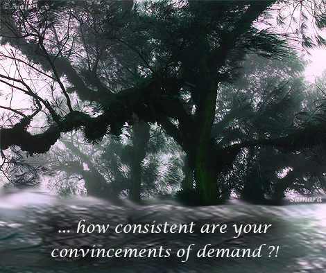 how-consistent-are-your-convincements-of-demand