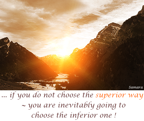 if-you-do-not-choose-the-superior-way---you-are-inevitably-going-to-choose-the-inferior-one