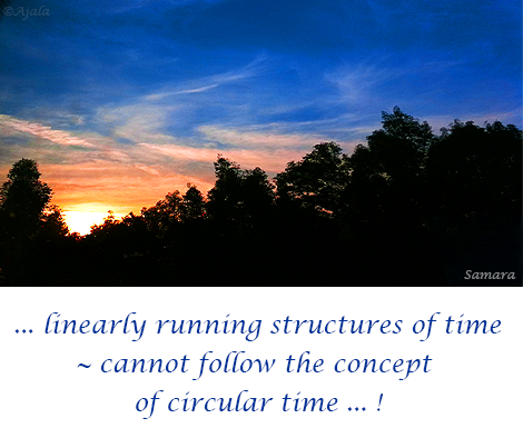 linearly-running-structures-of-time--cannot-follow-the-concept-of-circular-time