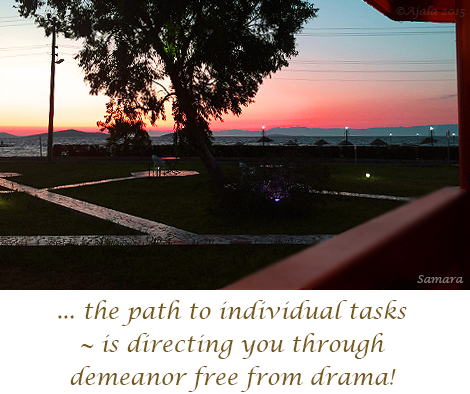 the-path-to-individual-tasks--is-directing-you-through-demeanor-free-from-drama