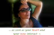 as-soon-as-your-heart-and-your-nous-interact--it-will-become-visible-in-your-expression