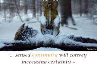 sensed-continuity-will-convey-increasing-certainty--to-master-life