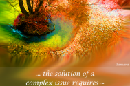 the-solution-of-a-complex-issue-requires--sensitizing-your-learning-behavior
